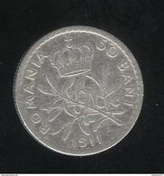 50 Bani Roumanie / Romania 1911 - TTB+ - Roumanie
