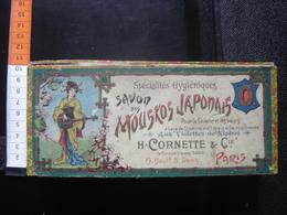 Ancienne Boite En Carton SAVON DES MOUKOS JAPONAIS Cornette Paris Old Box Vintage - Boxes