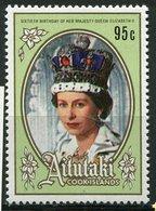 Aitutaki ** N° 438 - 60 Ans De La Reine Elizabeth - Aitutaki