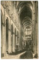 CPA 80 Somme Amiens La Cathédrale La Grande Nef - Amiens