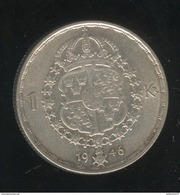 1 Couronne Suède / Sweden 1946 Gustav V - TTB+ - Suède
