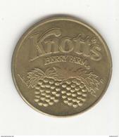 Jeton Touristique Etats-Unis Knott's Berry Farm - Souvenir - Autres