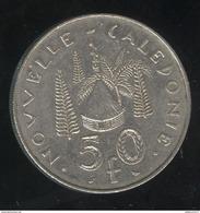 50 Francs Nouvelle Calédonie 1972 - TTB - Nuova Caledonia