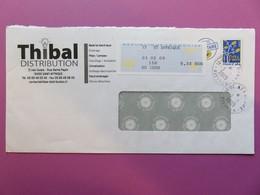 PAP - Entier Postal - Arbre à Feuilles - THIBAL - Rue Denis Papin - St Affrique + Vignette Distributeur 03.02.09 - Entiers Postaux
