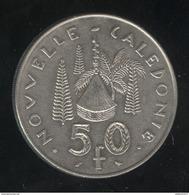 50 Francs Nouvelle Calédonie 1967 - TTB - Nouvelle-Calédonie