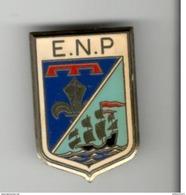 Insigne ENP Type 1 - Ecole Nationale De Police - Fabricant Delsart - Police