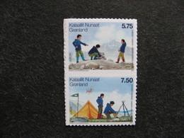 Groenland: TB Paire N° 461 Et N° 462. Neufs XX. Autoadhésifs. - Groenlandia