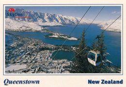 1 AK New Zealand * Blick Auf Die Stadt Queenstown - Luftbildaufnahme * - Neuseeland