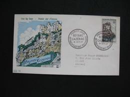 FDC 1957     N° 1127  Beynac-Cazenac      à Voir - FDC