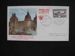 FDC 1957     N° 1128  Château De Valençay    à Voir - FDC