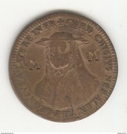 Jeton Legat Du Pape Flavio Chigi à Avignon - 1664 - TTB - Contremarqué MM - Professionali / Di Società