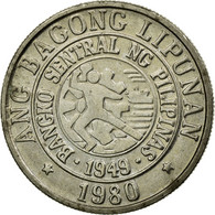 Monnaie, Philippines, 25 Sentimos, 1980, TTB, Copper-nickel, KM:227 - Philippines