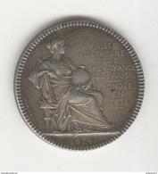 Jeton Caisse D'Epargne Et De Prévoyance De Paris Fondée En 1818 - 1894 - TTB+ - Professionals / Firms