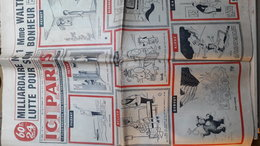 ICI PARIS N°710 4 Au 10 Fevrier 1959 (Faizant, Peynet, Dubout Fado , Amalia Rodriguez) - Periódicos