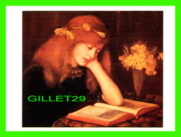 ARTS, PEINTURES - JANET ARCHER (1893-1916) - READING - VICTORIA'S SECRET - - Peintures & Tableaux