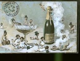 LE  CHAMPAGNE TIRAGE DE  1900   JLM - Epernay