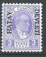 Turquie Alexandrette - TAXE  -  Yvert N° 8 **  -  Cw 33926 - 1934-39 Sandjak Alexandrette & Hatay