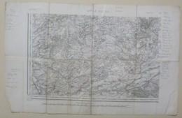 Etat-Major -1/80000, BAR-LE-DUC S.O. N°51 ; Type 1889 - Cartes Géographiques