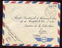 Maroc - Enveloppe En FM De Fes Pour Lyon - N243 - Maroc (1956-...)
