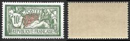FRANCE  1925-26  -  Y&T  207 -  Merson  10f   -  NEUF*  -  Cote 145e - 1900-27 Merson
