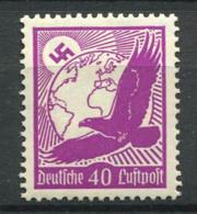 Germania Impero 1934 Mi. 534x Nuovo ** 100% Posta Aerea 40 Pf, Aquila In Volo - Posta Aerea