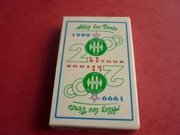 Asse Saint-etienne Cartes  A Jouer  Allez Les Verts 1999 - Cartes à Jouer Classiques