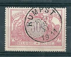 TR 35 Gestempeld RUMPST - COBA 8 Euro - Chemins De Fer