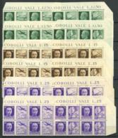 Italia Regno 1942 Sass. 1-12 Nuovo ** 80% Quartina Imperiale, Propaganda Bellica - 1900-44 Vittorio Emanuele III
