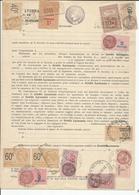 Document Préoblitéré - Fiscaux