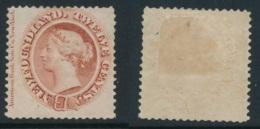 NEWFOUNDLAND, 1865 12c Chestnut, Medium White Paper Very Fine MM, SG33, Cat £60 - Newfoundland