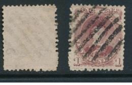 NEWFOUNDLAND, 1868 1c Brown-purple (type II) Fine Used, SG35, Cat £70 - Newfoundland