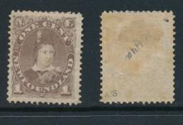 NEWFOUNDLAND, 1880 1c Dull Brown Very Fine MM, SG44a, Cat £50 - Newfoundland