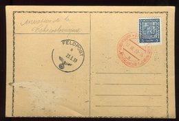 Tchécoslovaquie - Oblitération Du 17/III /39 Sur Carte ( Invasion De La Tchécoslovaquie ) - N256 - Covers & Documents