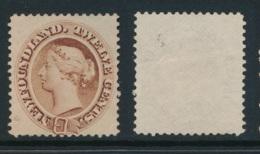 NEWFOUNDLAND, 1896 12c Chocolate-brown Fine, Unused No Gum, SG65a, Cat £120 - Newfoundland