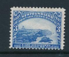 NEWFOUNDLAND, 1897 3c Fine, Unused No Gum - Newfoundland
