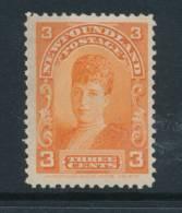 NEWFOUNDLAND, 1897 3c Orange Very Fine MM, SG88, Cat £30 - Newfoundland