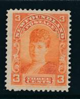 NEWFOUNDLAND, 1897 3c Red-orange Very Fine MM, SG88a, Cat £50 - Newfoundland
