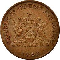 Monnaie, TRINIDAD & TOBAGO, 5 Cents, 1983, Franklin Mint, TTB, Bronze, KM:30 - Trinité & Tobago