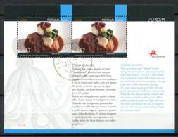 Portogallo Azzorre 2005 Mi. Bl. 28 Foglietto 100% Usato Gastronomia - Azores