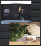 Portogallo Azzorre 2009 Mi. Bl. 41-42 Foglietto 100% Usato , Astronomia, Pane - Azores