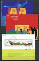 Portogallo Madera 2003/2004 Mi. Bl. 26, 28, 29 Foglietto 100% Usato , Arte, Cultura, Uccelli - Madeira