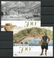 Portogallo Madera 2008 Mi. Bl. 39-40 Foglietto 100% Usato Città Di Funchal, Cultura - Madeira