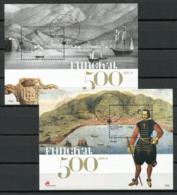 Portogallo Madera 2008 Mi. Bl. 39-40 Foglietto 100% Usato , Città Storica - Madeira