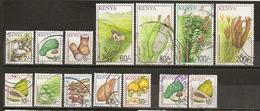 Kenya 2001 Fruits Produits Crops Obl - Kenya (1963-...)