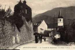 ARGELES GAZOST - Hautes Pyrénées - 65 - Tonnelle Du Sanatorium  Et Toute D'Arras - AN3 - Argeles Gazost