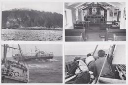 Tristan Da Cunha Lot Of 4 FDC PPc's Postcards 1980 Cartes Postales Premier Jour Seamanship South Atlantic Ocean 1979 - Tristan Da Cunha