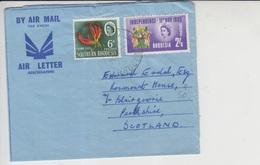 Southern Rhodesia Airmail Cover To Scotland, Zimbabwe     (A-420) - Zambezia