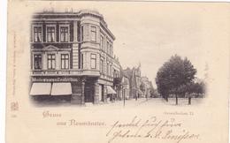 656/ Gruss Aus Neumünster, Grossflocken II. 1898 - Neumünster