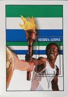 Sierra Leone  1989 Summer Olympics ,Seoul S/S - Sierra Leone (1961-...)