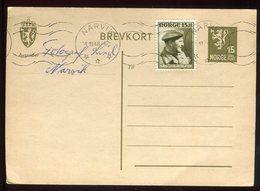 Norvège - Entier Postal + Complément  De Narvik En 1946 - N265 - Postal Stationery